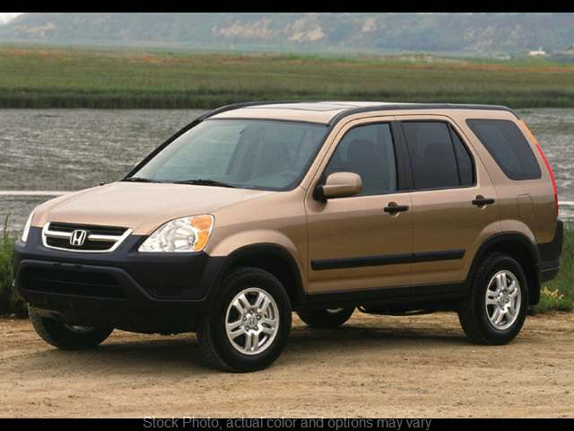 Used 2003 Honda CR-V 4d SUV 4WD EX AT at Carmack Car Capitol near Danville, IL
