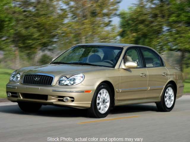 Used 2003  Hyundai Sonata 4d Sedan at Premier Car & Truck near St. George, UT
