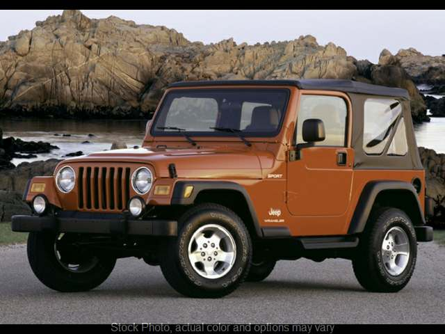 2004 Jeep Wrangler 2d Convertible Sport at CarCo Auto World near South Plainfield, NJ