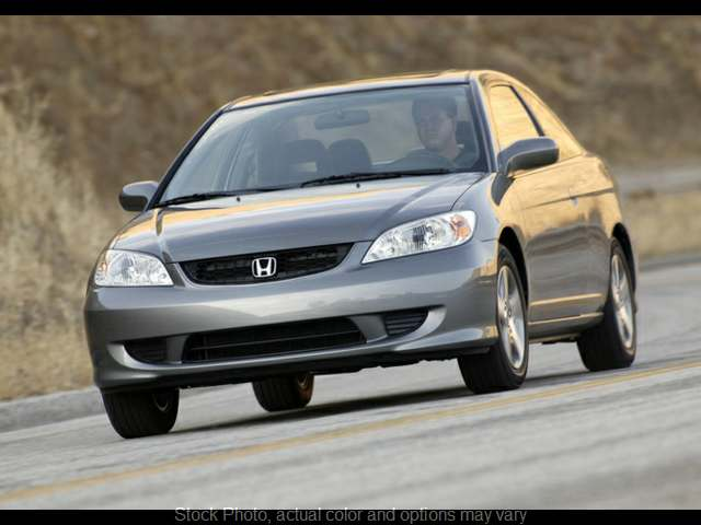 Used 2004  Honda Civic Coupe 2d EX AT at Bobb Suzuki near Columbus, OH