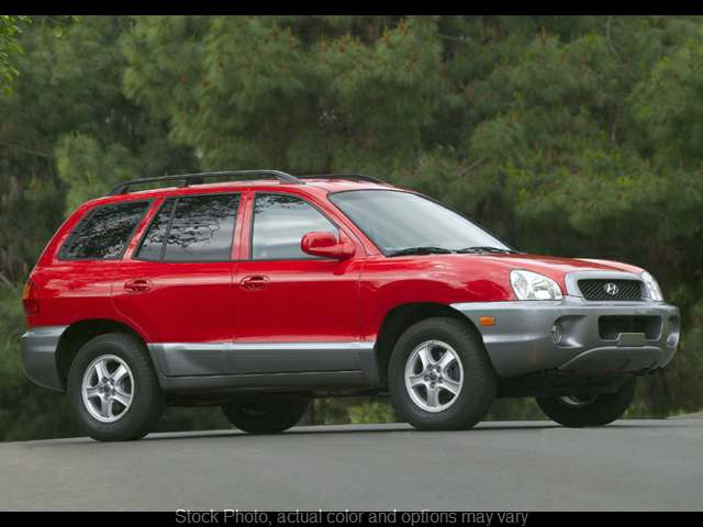 Used 2004 Hyundai Santa Fe 4d SUV FWD GLS 2.7L at C&H Auto Sales near Troy, AL