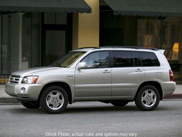 Used 2005  Toyota Highlander 4d SUV FWD Limited at Action Auto Group near Oxford, MS