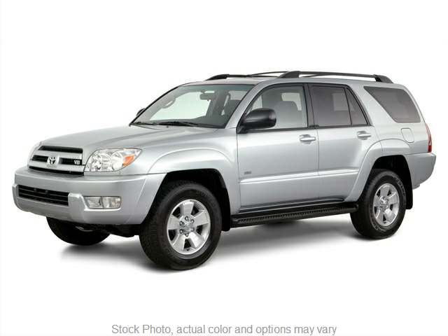 2005 Toyota 4Runner 4d SUV 4WD SR5 (V8) at Naples Auto Sales near Vernal, UT