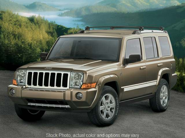 Used 2006  Jeep Commander 4d SUV 4WD at The Gilstrap Family Dealerships near Easley, SC