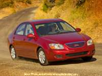 2007 Kia Spectra 4d Sedan EX Auto at CarCo Auto World near South Plainfield, NJ