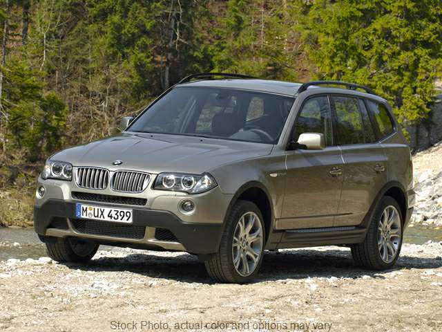 2008 BMW X3 4d SAV 3.0si at Good Wheels near Ellwood City, PA
