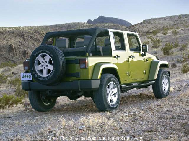 Used 2008  Jeep Wrangler Unlimited 4d Convertible 4WD Sahara at Ronan Motors near Ronan, MT