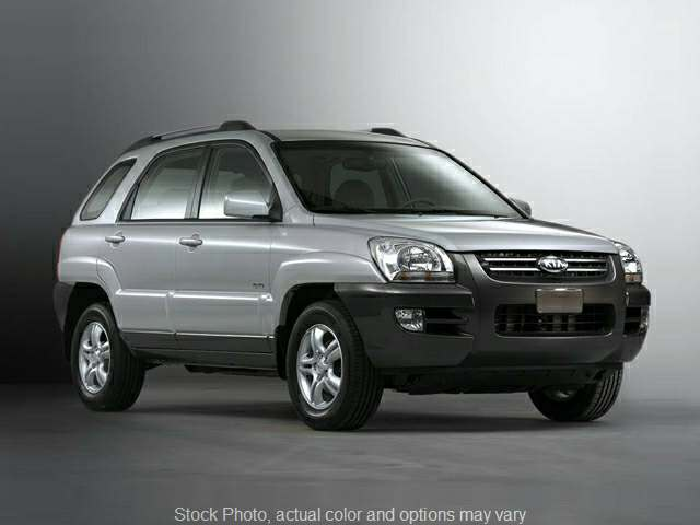2008 Kia Sportage 4d SUV FWD LX 5spd at Edd Kirby's Adventure Mitsubishi near Chattanooga, TN