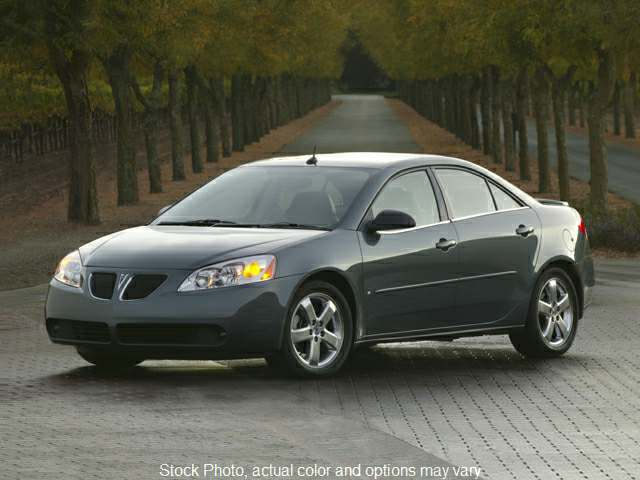 Used 2008  Pontiac G6 4d Sedan at Charbonneau Car Center near Dickinson, ND