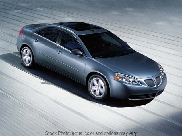Used 2008  Pontiac G6 4d Sedan Value at Bobb Suzuki near Columbus, OH