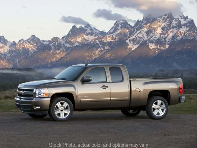 2010 Chevrolet Silverado 1500 4WD Ext Cab LS at Shook Auto Sales near New Philadelphia, OH