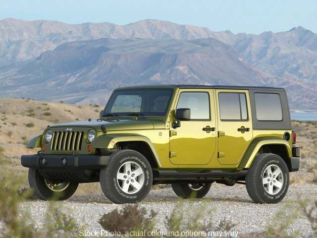 2009 Jeep Wrangler Unlimited 4d Convertible 4WD Sahara at Good Wheels near Ellwood City, PA