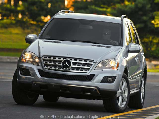 Used 2010  Mercedes-Benz M-Class 4d SUV ML350 4matic at Graham Auto Group near Mansfield, OH