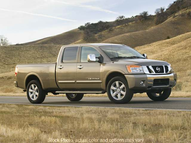 Used 2011  Nissan Titan 4WD Crew Cab S at Bill Fitts Auto Sales near Little Rock, AR
