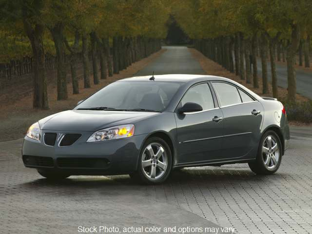 2009 Pontiac G6 4d Sedan GT at Action Auto Group near Oxford, MS