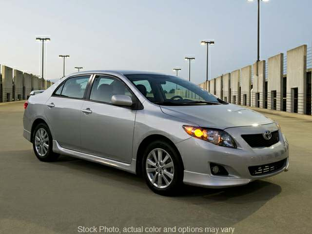 2009 Toyota Corolla 4d Sedan Auto at Action Auto Group near Oxford, MS