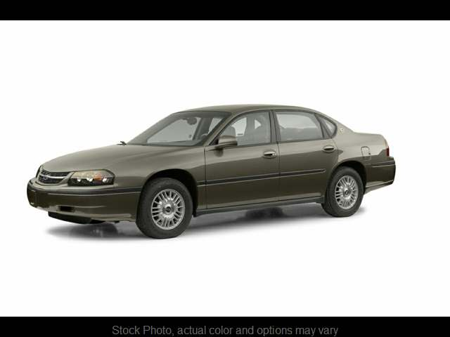 2002 Chevrolet Impala 4d Sedan at Bobb Suzuki near Columbus, OH