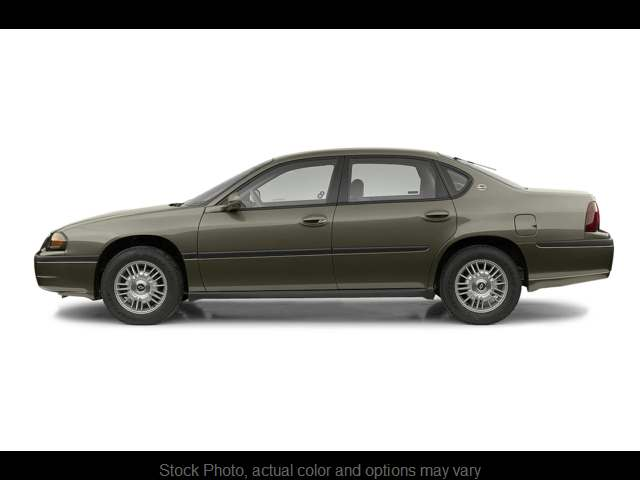 Used 2002  Chevrolet Impala 4d Sedan at Bobb Suzuki near Columbus, OH