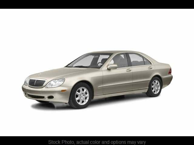 2002 Mercedes-Benz S-Class 4d Sedan S600 at VA Cars Inc. near Richmond, VA