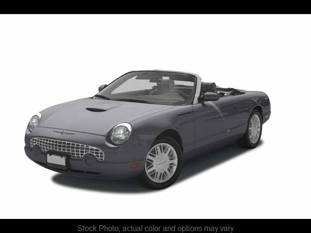 Used 2003  Ford Thunderbird 2d Convertible at Mike Burkart Ford near Plymouth, WI