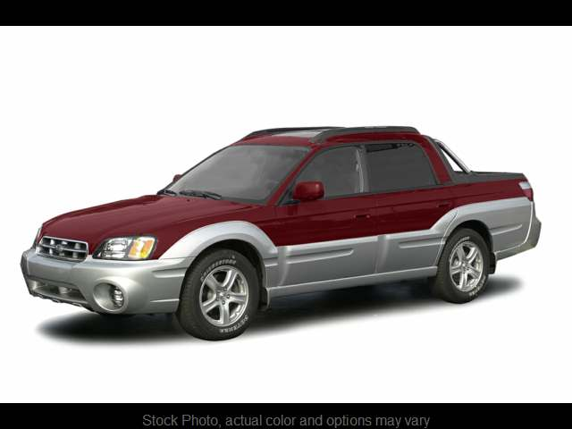 Used 2003  Subaru Baja 4d SUV Sport at Oxendale Auto Outlet near Winslow, AZ