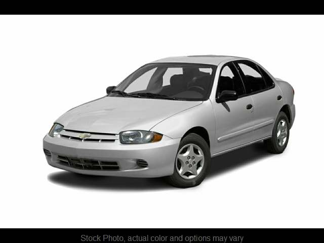 Used 2004  Chevrolet Cavalier 4d Sedan LS at Midgette Auto near Harbinger, NC