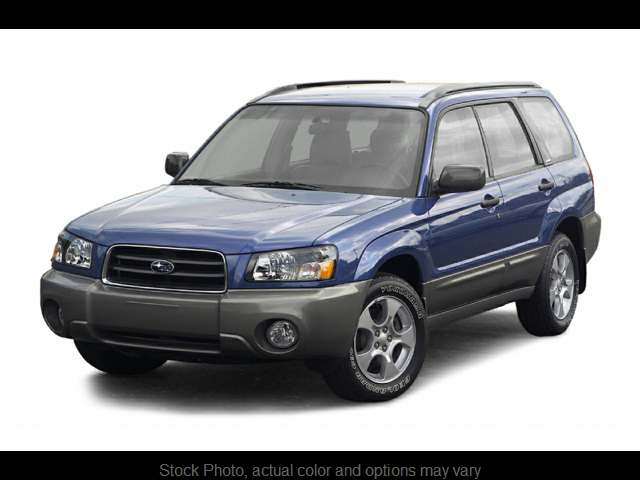 2004 Subaru Forester 4d SUV XS at Good Wheels near Ellwood City, PA
