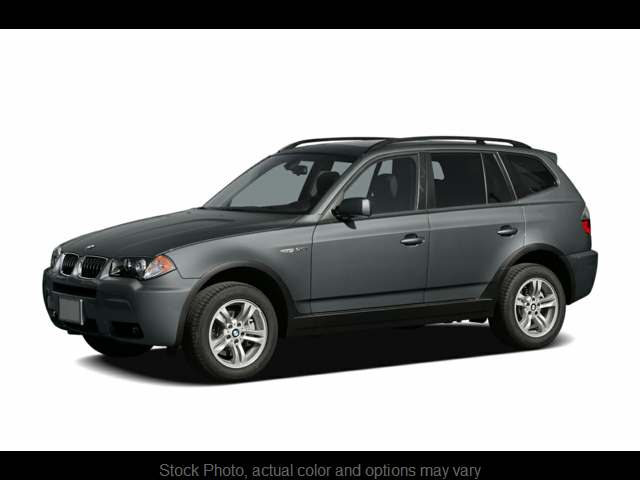 2006 BMW X3 4d SAV 3.0i at One Stop Auto Sales near Macon, GA