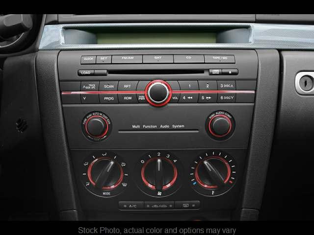 2006 mazda 3 audio system