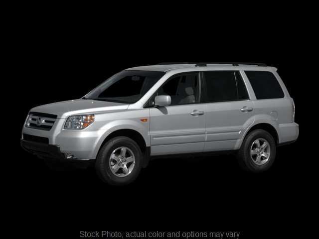 Used 2008  Honda Pilot 4d SUV FWD EX-L w/DVD at Graham Auto Group near Mansfield, OH
