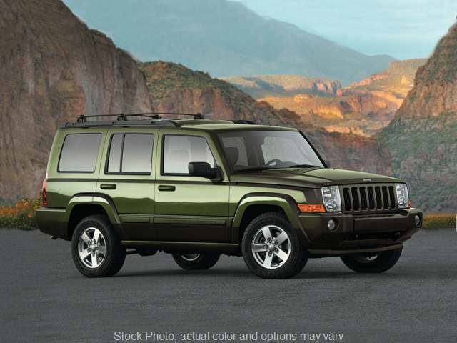 Used 2008  Jeep Commander 4d SUV 2WD Sport (V8) at Solutions Auto Group near Chickasha, OK
