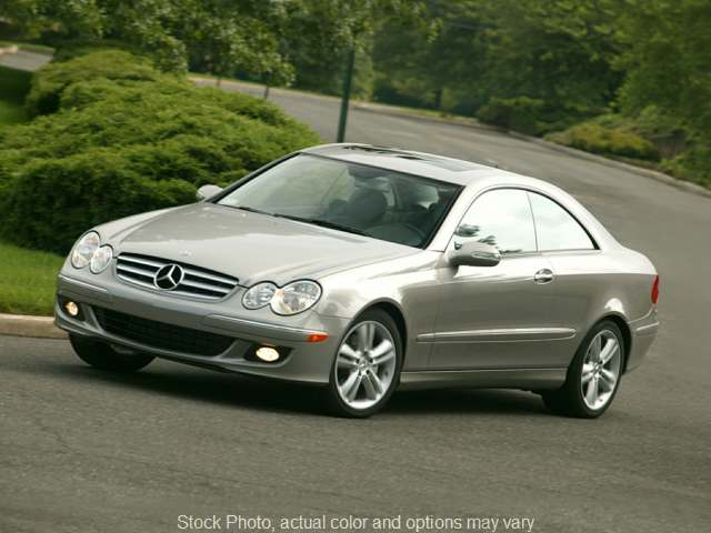 Used 2007  Mercedes-Benz CLK-Class 2d Coupe CLK350 at Midgette Auto near Harbinger, NC