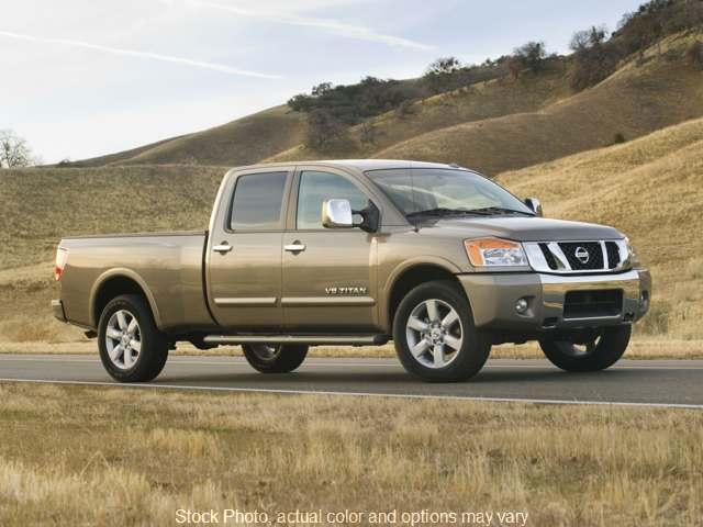 Used 2008  Nissan Titan 4WD Crew Cab LE at Camacho Mitsubishi near Palmdale, CA