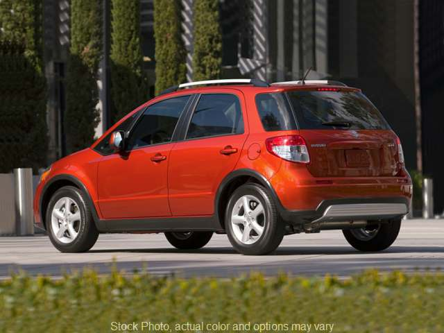 Used 2008  Suzuki SX4 Crossover 4d SUV AWD Base Auto at Good Wheels near Ellwood City, PA
