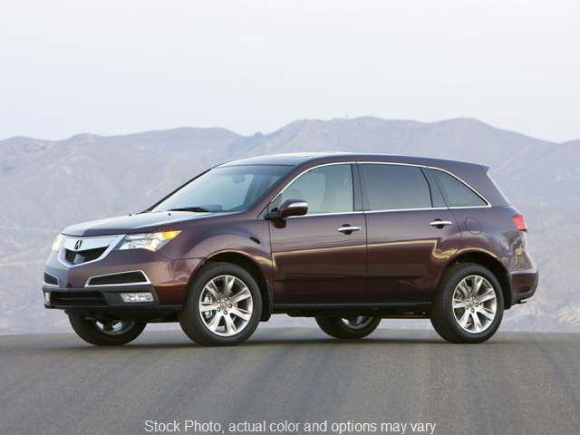 2012 Acura MDX 4d SUV at Graham Auto Group near Mansfield, OH