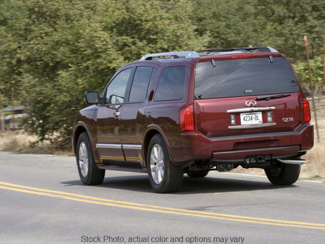 2010 Infiniti QX56 4d SUV 4WD at Monster Motors near Michigan Center, MI
