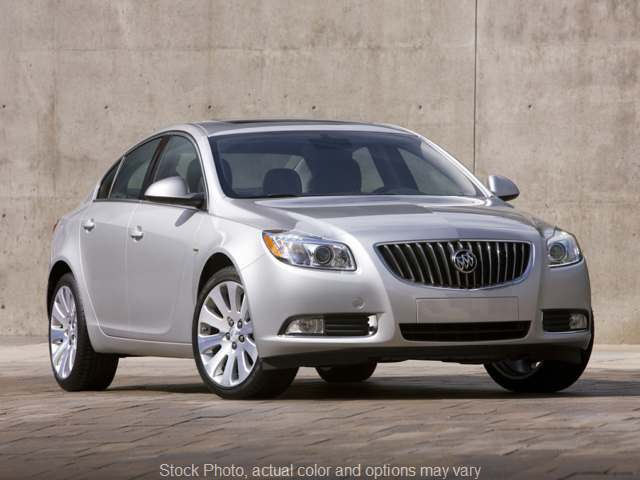 2012 Buick Regal 4d Sedan Base at Shields Auto Center near Rantoul, IL