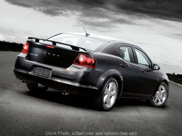 Used 2012  Dodge Avenger 4d Sedan SXT at Good Wheels near Ellwood City, PA