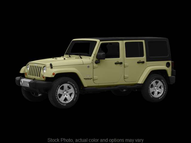 Used 2012  Jeep Wrangler Unlimited 4d Convertible Sahara at Monster Motors near Michigan Center, MI