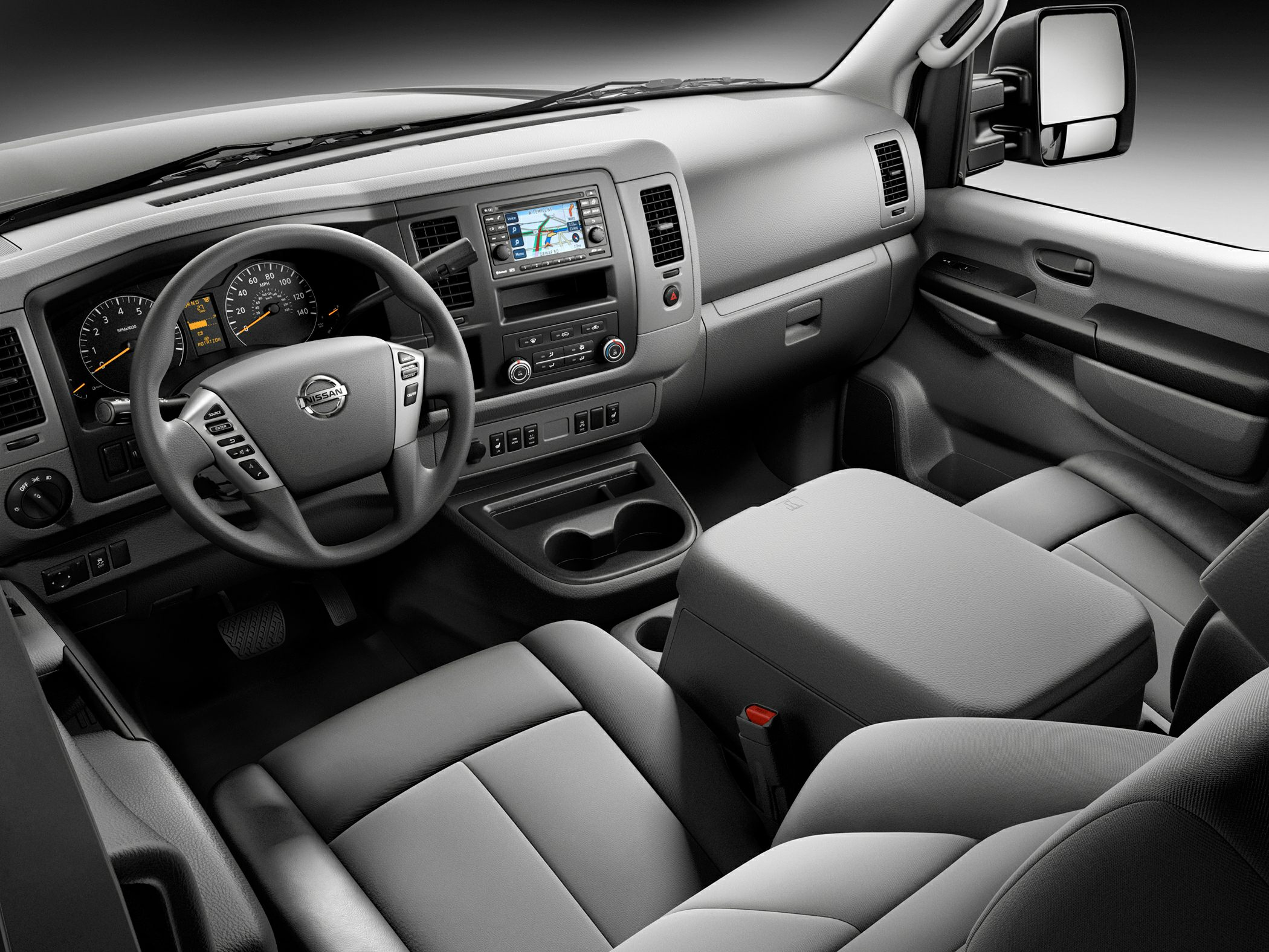 research detail nissan nv space