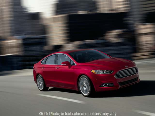 2014 Ford Fusion 4d Sedan SE EcoBoost 1.5L at Mike Burkart Ford near Plymouth, WI