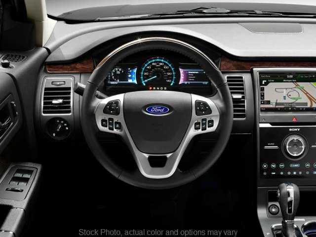 Used 2017  Ford Flex 4d SUV AWD SEL at Mike Burkart Ford near Plymouth, WI