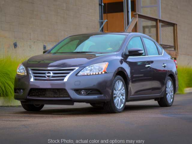 Used 2015  Nissan Sentra 4d Sedan S CVT at VA Cars of Tri-Cities near Hopewell, VA