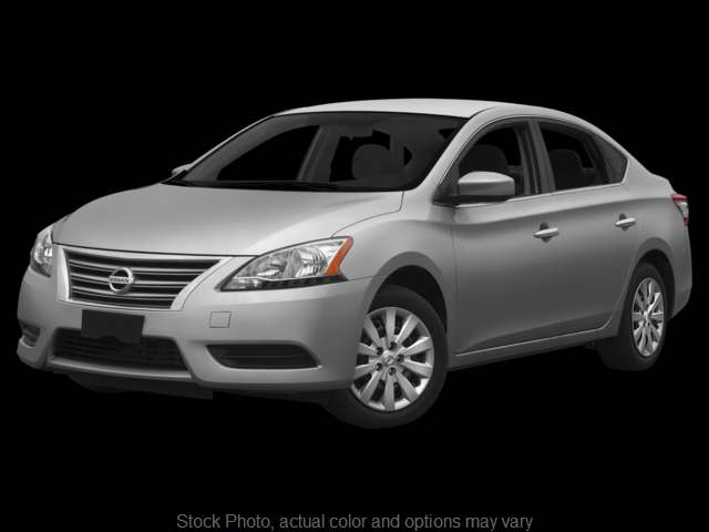 Used 2015  Nissan Sentra 4d Sedan S CVT at VA Cars West Broad, Inc. near Henrico, VA