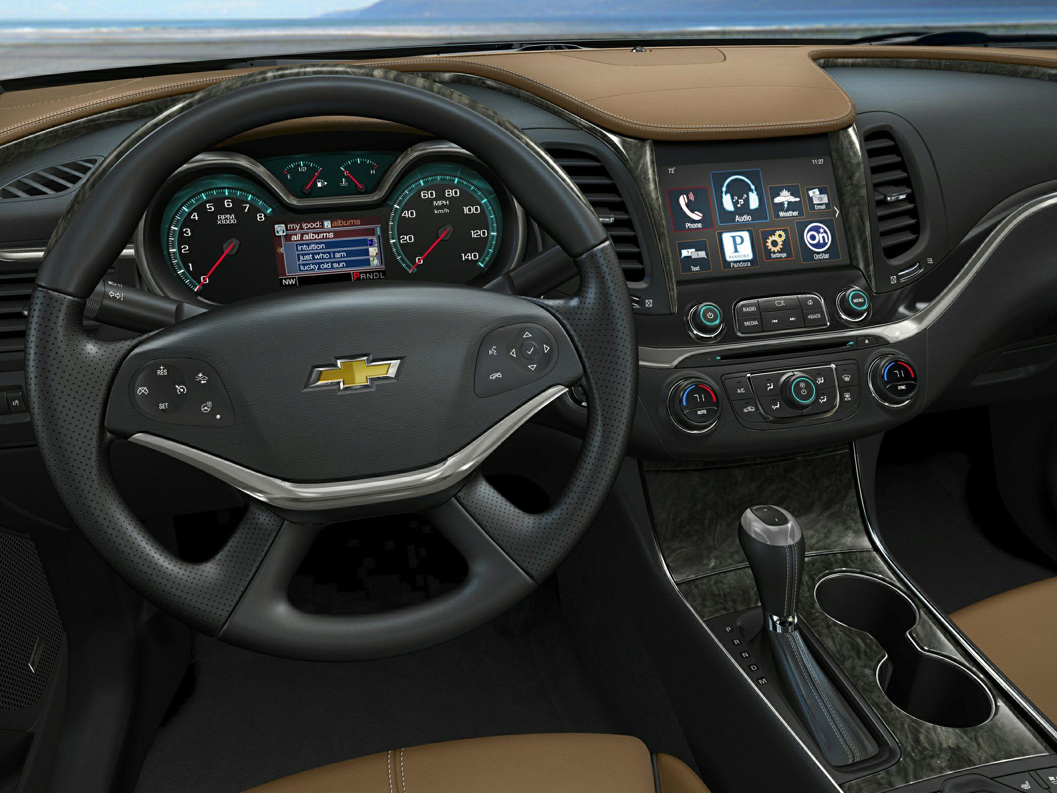2017 chevrolet impala 1fl