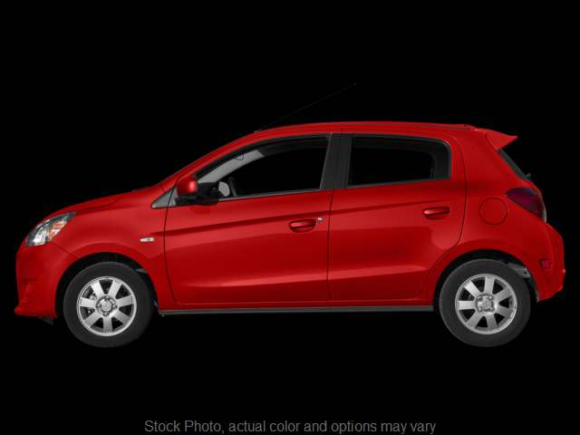 Used 2014  Mitsubishi Mirage 4d Hatchback ES CVT at The Gilstrap Family Dealerships near Easley, SC