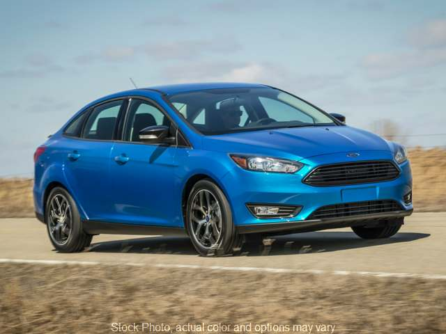 Used 2018  Ford Focus 4d Sedan SEL at Maxx Loans USA near Saline, MI