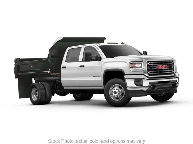 """Used 2015  GMC Sierra 3500 Cab-Chassis 4WD Crew Cab 171"""" DRW SLE at Charbonneau Car Center near Dickinson, ND"""