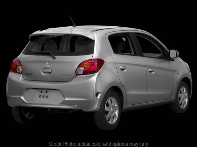 Used 2015  Mitsubishi Mirage 4d Hatchback ES CVT at The Gilstrap Family Dealerships near Easley, SC