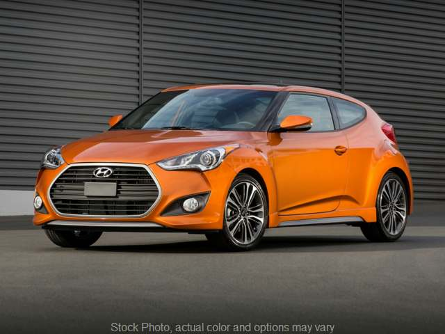 Used 2016  Hyundai Veloster 3d Coupe Turbo Auto w/Orange Accent Seat at The Gilstrap Family Dealerships near Easley, SC